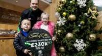 Christmas Appeal 2017 shared Spirit of Celtic and raised over £230k