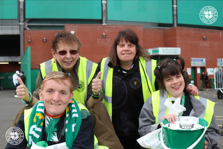bc4a5c2d5 Great success for Celtic FC Foundation badge day